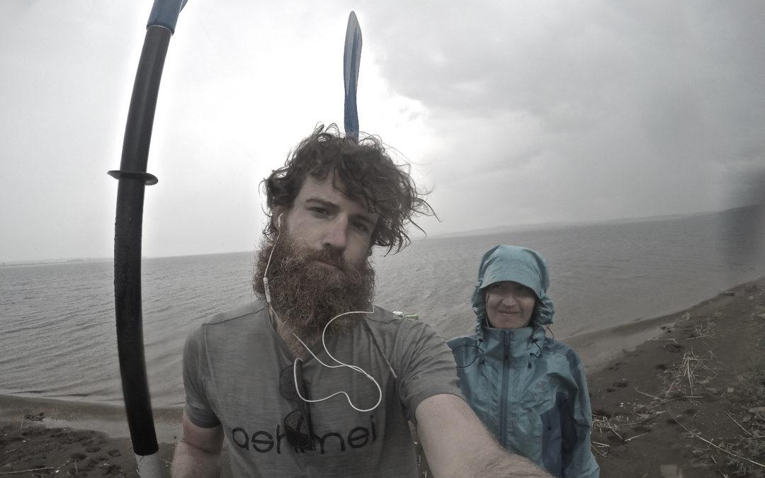 Following The Line: an 8-month Eurasian triathlon